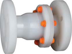 PP Non Return Valve Flange End
