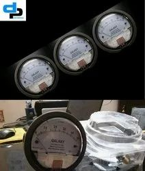 Galaxy Model G 2000-25 MM Magnehelic Gauges Ranges 0-25 MM WC