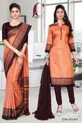 Uniform Saree Chudidar