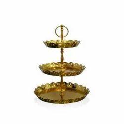 4372 Golden Metal Plate