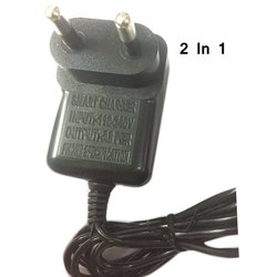 2 In 1 Round Pin Mobile Charger