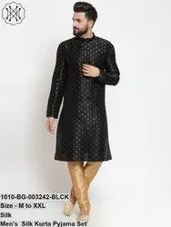 Men's Silk Kurta Pyjama