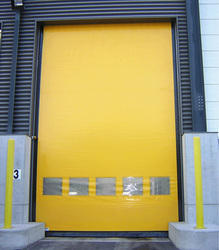High Speed Self Repairing Door