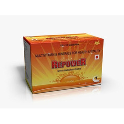 Repower Capsules With Ginseng Power