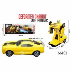 Plastic Deformation Robot Car No. 66101 Toys
