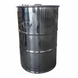 Natural/Metallic Stainless Steel Drum, for Commercial