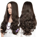 Synthetic Curly Wavy Hair Wig