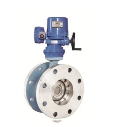 Electric Actuator Operated Double Offset Butterfly Valve