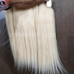 rvhhe Natural Indian Human Blonde Hair, Pack Size: Depend On The Order, for resell