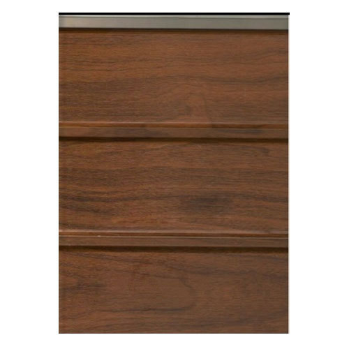 Pvc Brown Teak Wood Wall Panel