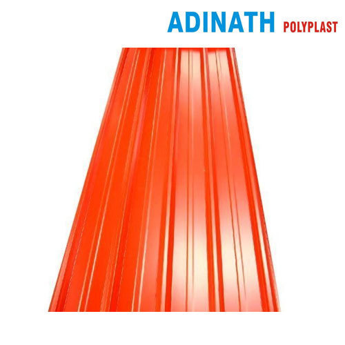 Orange Profile Sheets, Thickness: 4 mm