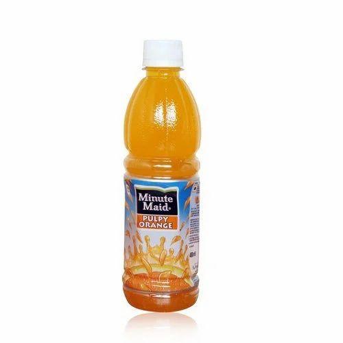 minute maid pulpy orange juice at rs 25 bottle narangi juice