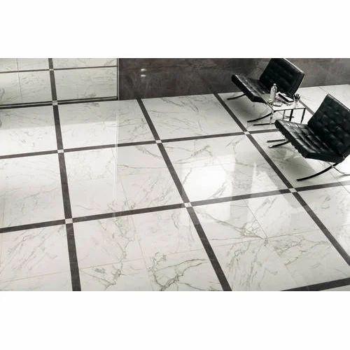 White Black Hospital Floor Tile Rs 30