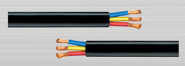 6 sqmm Submersible Flat Cable, Voltage: 220 Volt