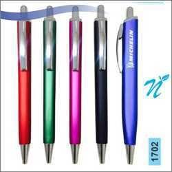 Plastic Square Metallic Colour Pen