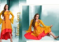 Ladies Western Cotton Kurti