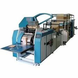 Aradhya Fully Automatic Paper Bag Making Machine, Capacity: 60 Pieces Per Minute, 240 V