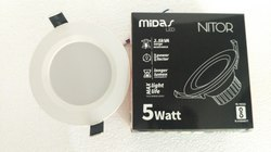 Midas Nitor Concealed LED Downlight Round- 5W