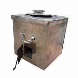 Square Copper Tandoor