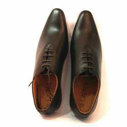 Lapadi Men Black Formal Shoes, Size: 6 to 12