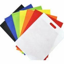 Plain Non Woven Fabric D Cut Bag, Capacity: 1-5 Kg, Size/Dimension: 11x14 Inch