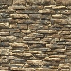 Autumn Brown Ledgestone Veneer