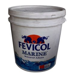 Fevicol Marine Waterproof Adhesive, Packaging Type: Plastic Bucket
