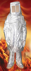 Aluminised Fire Entry Suit