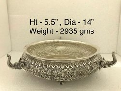 Antique Silver Plated Urlis