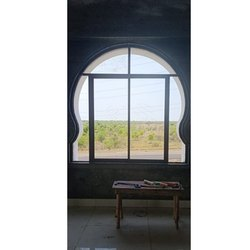 Hinged Round Aluminum Window Frame