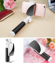 Multicolor Mini Selfie Stick With Bluetooth Shutter