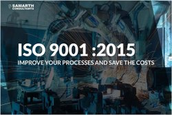 ISO 9001 System Implementation & Process Design