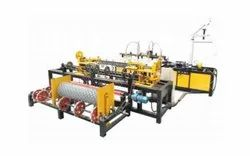 3m Single Wire Chain Link Fence Machine
