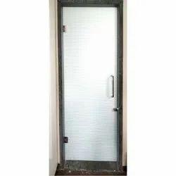 Hinged Rectangular Toughened Glass Door