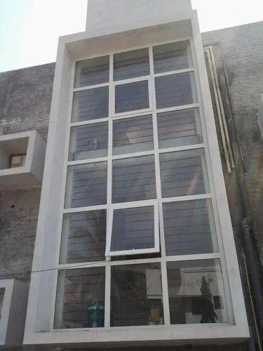 Transparent Glass Facade