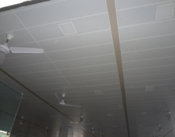Steel / Stainless Steel And Aluminum Plank Ceiling