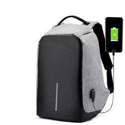Anti-Theft Water Resistant Laptop Bag with USB Charging Port