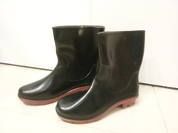 Hillson Don Make Red Sole Safety Gumboot