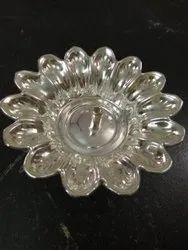 Devdas Silver Coated Diya