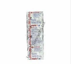 Mignar 25 mg Tablet
