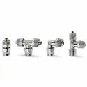 Camozzi Series 1000 Brass Rapid Push-In Fittings For Plastic Tubes