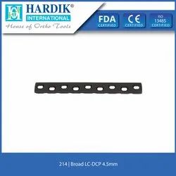 Broad LC-DCP Plate 4.5mm