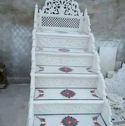 White Masjid Mimbar Marble Articles