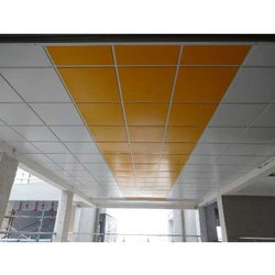 Metal Tile False Ceiling Services