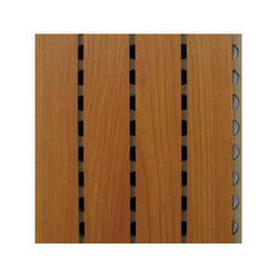Grooved Wooden Slats