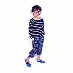Wood Apple Male Boys Cotton Kids Wear, Age: 7-9 Years