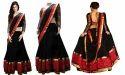 Black & Red Georgette Lehenga Choli