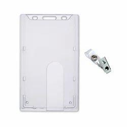 on sale b1be2 f7a07 Rigid Plastic ID Card Holder