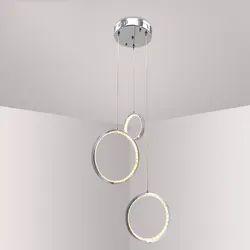 Hanging Circle Crystal LED Light (36W)