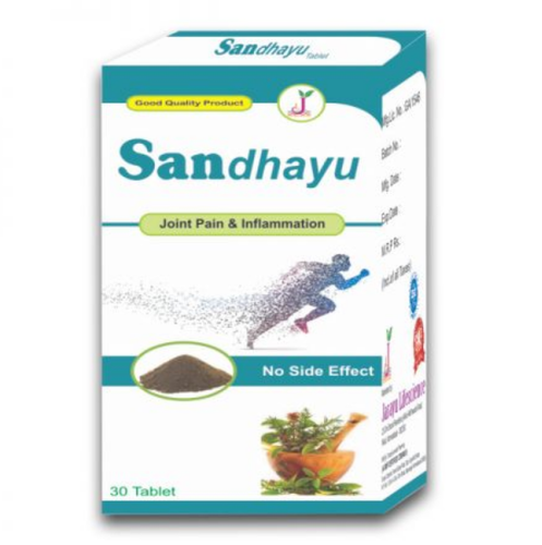 Sandhayu Harbal Tablet, Packaging Type: Bottle